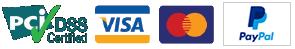 ניתן לשלם באמצעות כרטיס אשראי או פייפאל