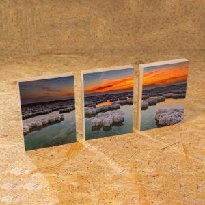 תמונה על 3 בלוקים 14x20