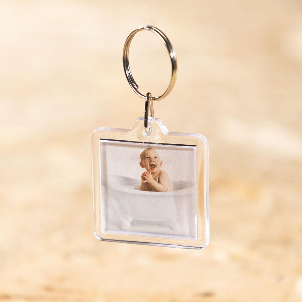 תמונה על מחזיק מפתחות